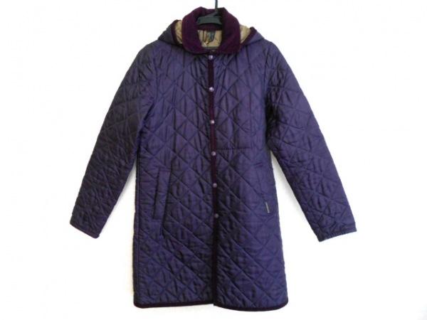 LAVENHAM(ラベンハム) コート サイズ40 M レディース パープル キルティング/冬物