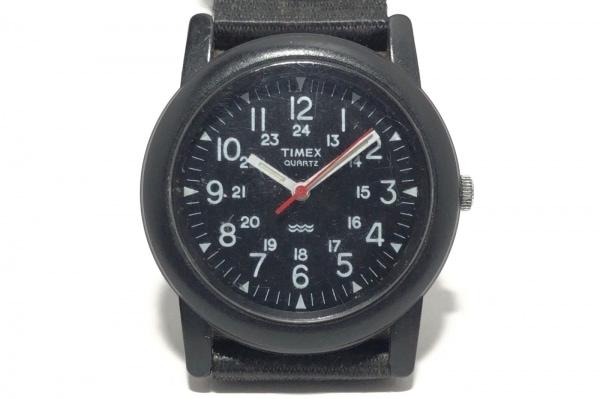 TIMEX(タイメックス) 腕時計 CR2016CELL メンズ 黒