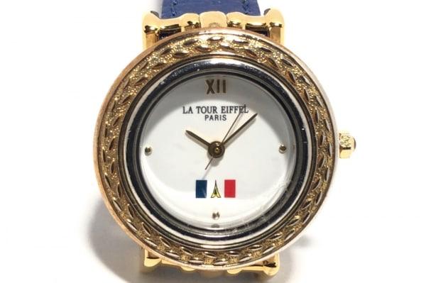 la tour eiffel(ラトゥールエッフェル) 腕時計 TE-1010L レディース 白