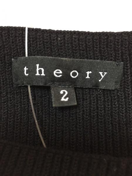 theory(セオリー) ワンピース サイズ2 S レディース 黒 ノースリーブ