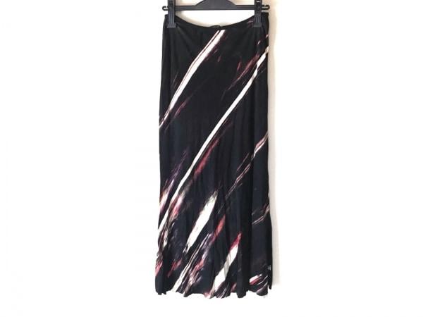 ヴィヴィアンタム ロングスカート サイズ1 S レディース 黒×ベージュ×マルチ