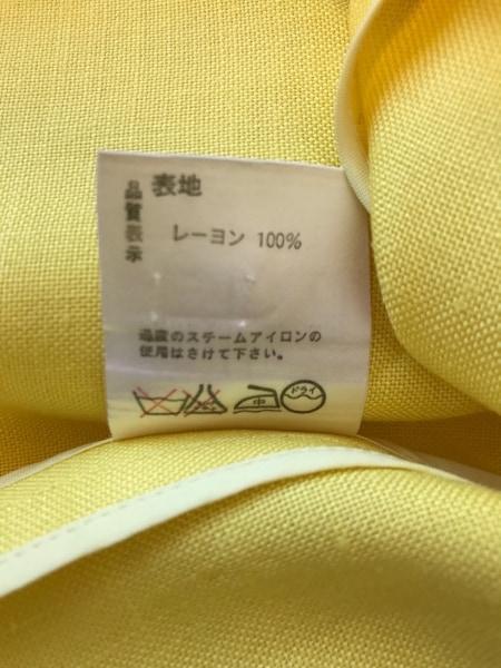ラピーヌブランシュ スカートスーツ サイズ11 M レディース美品  イエロー