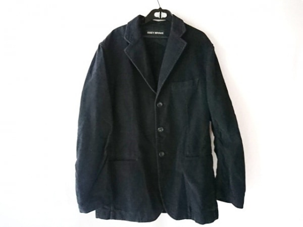 ISSEYMIYAKE(イッセイミヤケ) ジャケット サイズ3 L メンズ 黒