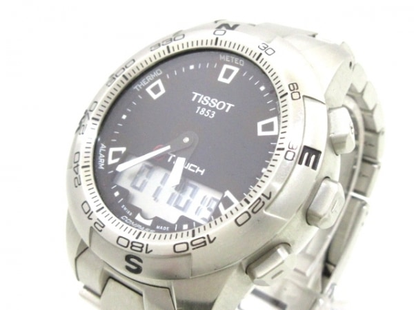 TISSOT(ティソ) 腕時計 TOUCH2/1853 T047420A メンズ 黒