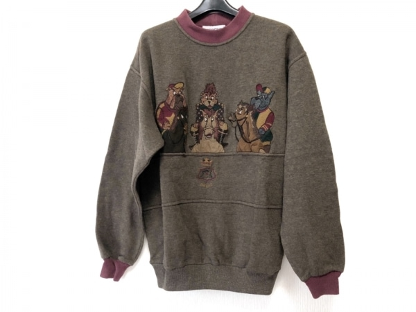 ICEBERG(アイスバーグ) 長袖セーター サイズM メンズ ダークブラウン