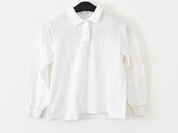 クリスチャンディオールスポーツ 長袖ポロシャツ サイズM レディース 白