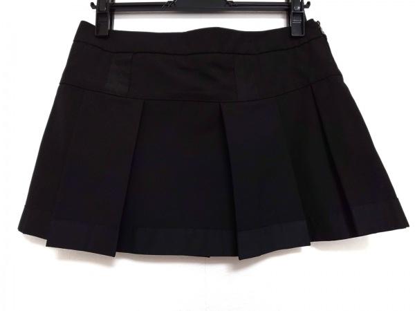 PRADA SPORT(プラダスポーツ) ミニスカート サイズ38 S レディース美品  黒