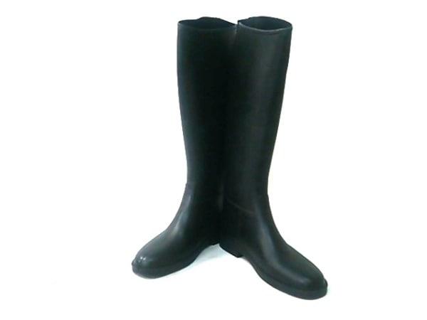 Dafna Boots(ダフナブーツ) レインブーツ UK 5838 レディース 黒 ラバー×化学繊維