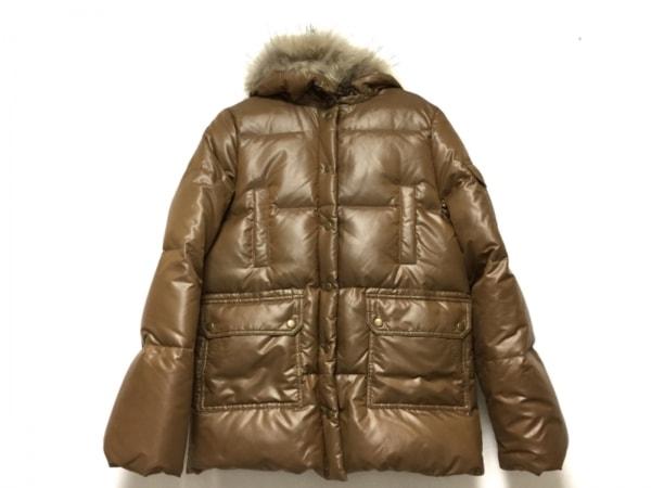 ティ ヤマイ パリ ダウンジャケット サイズ0 XS レディース ブラウン 冬物