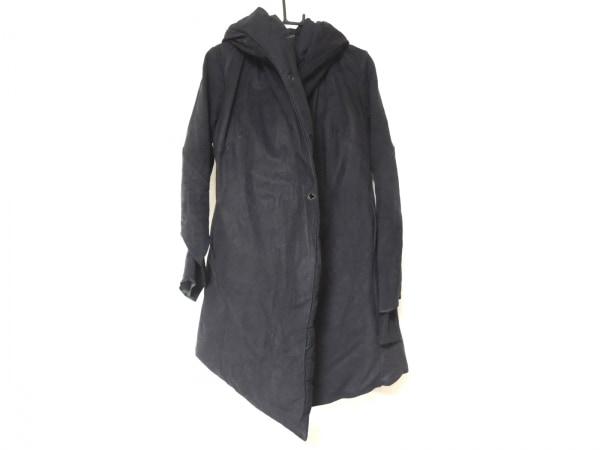 ISAAC SELLAM(アイザックセラム) ダウンコート サイズ36 S レディース 黒 冬物/レザー