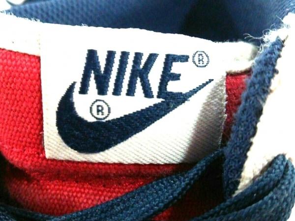 NIKE(ナイキ) スニーカー メンズ美品  653876-100 アイボリー×レッド×ネイビー