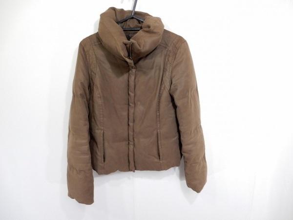 UNTITLED(アンタイトル) ダウンジャケット サイズ3 L レディース ダークブラウン 冬物