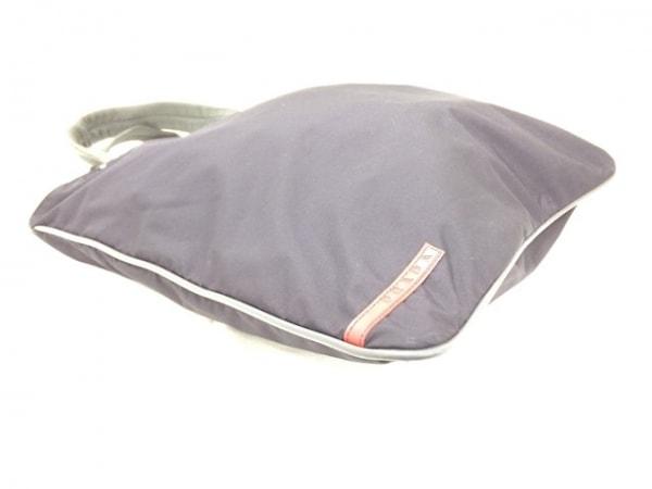 PRADA SPORT(プラダスポーツ) ハンドバッグ 黒×グレー ナイロン