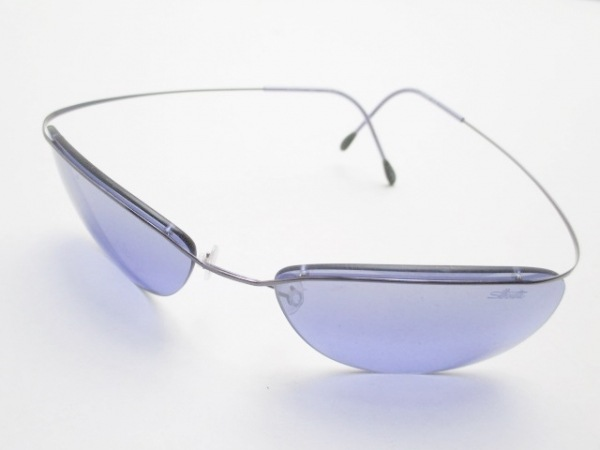 Silhouette(シルエット) サングラス パープル プラスチック×金属素材