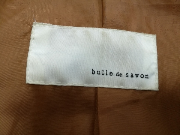 bulle de savon(ビュルデサボン) コート レディース ライトブラウン 冬物
