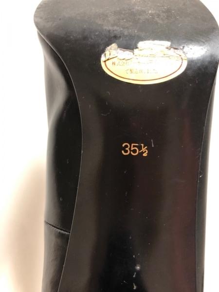YvesSaintLaurent(イヴサンローラン) パンプス 35 1/2 レディース 黒 レザー