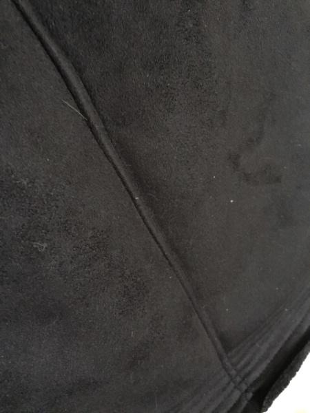 EMODA(エモダ) コート サイズS レディース 黒 冬物/ジップアップ