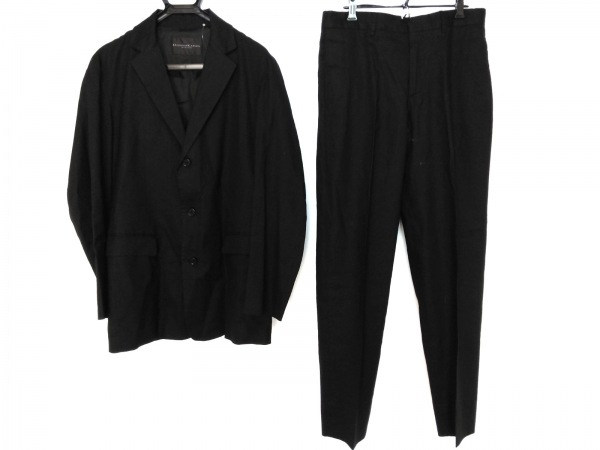 DONNAKARAN(ダナキャラン) シングルスーツ サイズ32 XS メンズ 黒