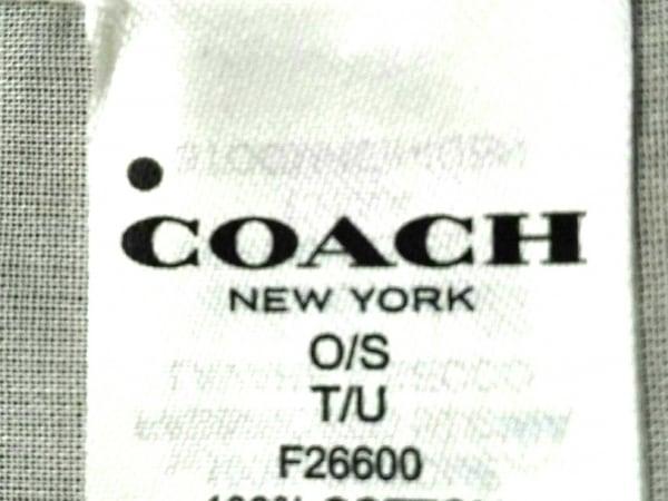 0938b2ab1abb COACH(コーチ) スカーフ F26600 ベージュ×マルチの中古 | COACH ブランド ...