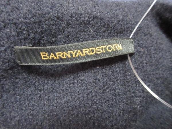 BARNYARDSTORM(バーンヤードストーム) ポンチョ サイズF レディース 黒