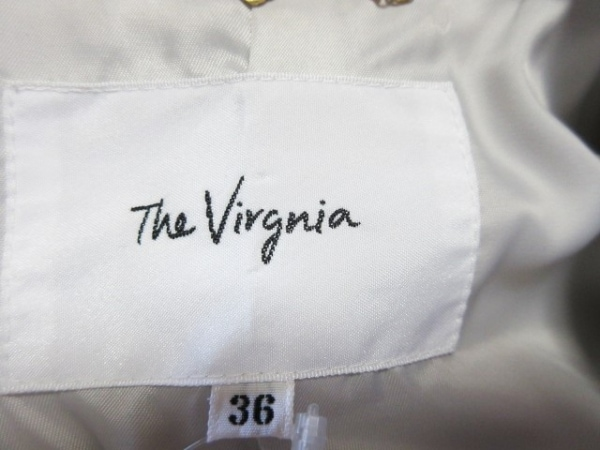 The Virgnia(ザ ヴァージニア) コート サイズ36 S レディース ベージュ ロング丈/冬物