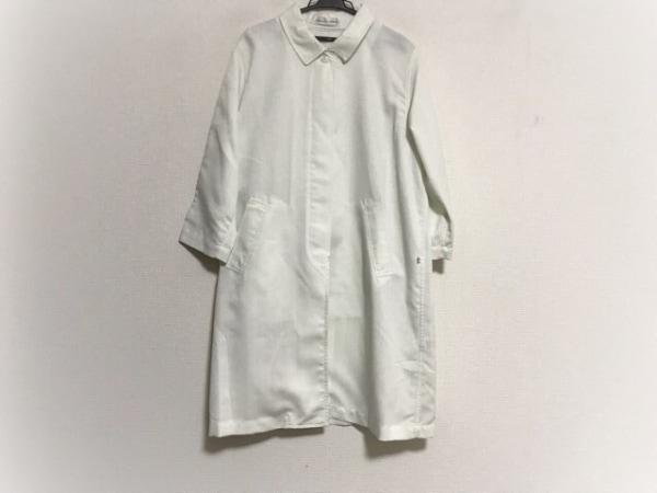 kawaiokada(カワイオカダ) コート サイズL レディース美品  白 春・秋物