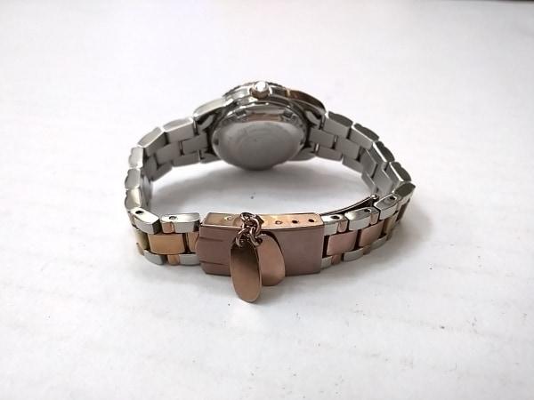 ツモリチサト 腕時計 YD03-D008 レディース シェル文字盤/ラインストーン アイボリー