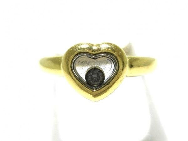 Chopard(ショパール) リング ハッピーダイヤ K18YG×ダイヤモンド