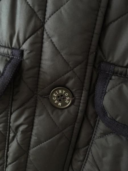 MACKINTOSH(マッキントッシュ) コート サイズ36 S レディース 黒 冬物/キルティング