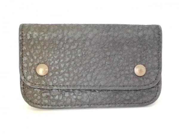 MM6(エムエムシックス) 財布 黒 レザー
