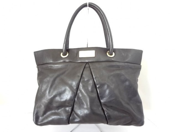 MARC BY MARC JACOBS(マークバイマークジェイコブス) トートバッグ - 黒 レザー