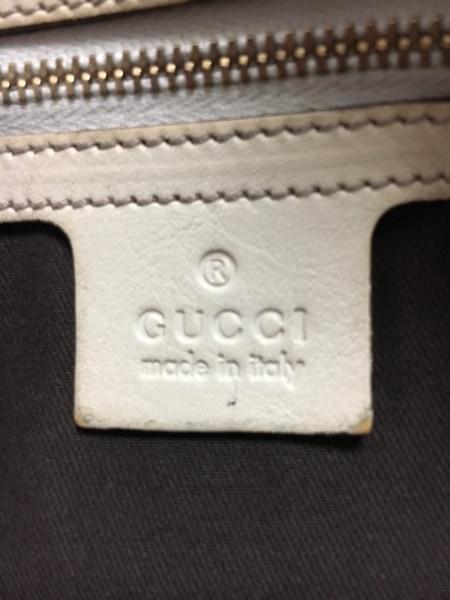 GUCCI(グッチ) ショルダーバッグ GG柄/ホースビット 162900 ベージュ×ダークブラウン