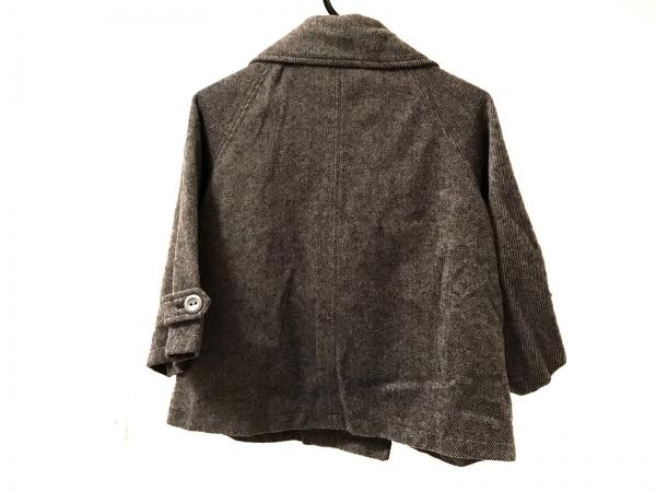 ブージュルード コート サイズ38 M レディース美品  グレー 冬物/ショート丈