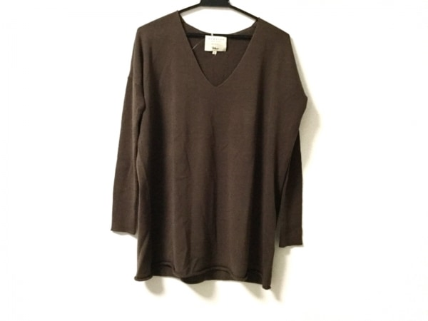 demylee(デミリー) 長袖セーター サイズXS メンズ美品  ダークブラウン