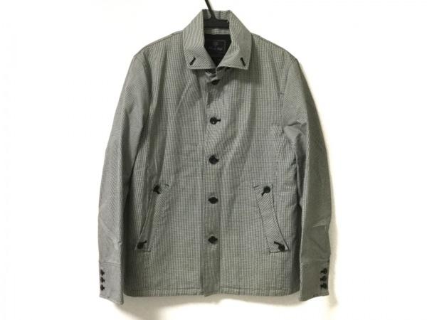 MEN'SBIGI(メンズビギ) コート サイズ4 XL メンズ美品  白×黒 春・秋物