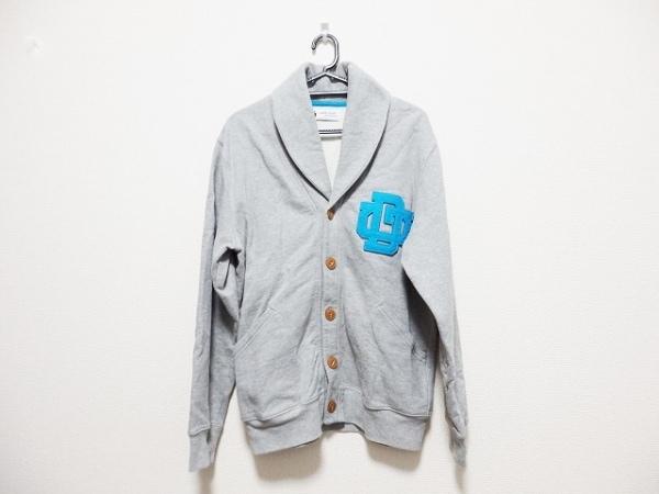 ザダファーオブセントジョージ ジャケット サイズL メンズ グレー×ブルー