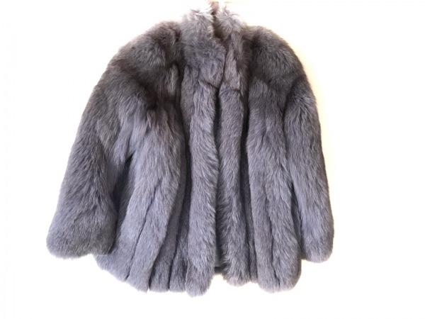 SAGA FOX(サガフォックス) ブルゾン サイズ13 L レディース美品  グレー 冬物