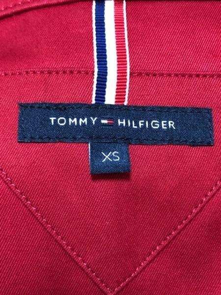 TOMMY HILFIGER(トミーヒルフィガー) コート サイズXS レディース レッド 春・秋物