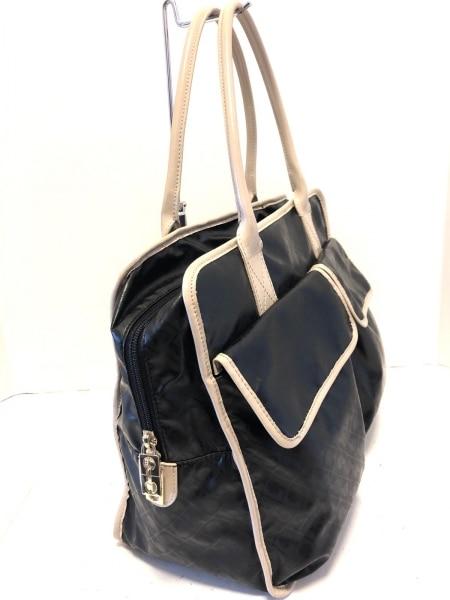 GHERARDINI(ゲラルディーニ) ハンドバッグ美品  黒×ベージュ