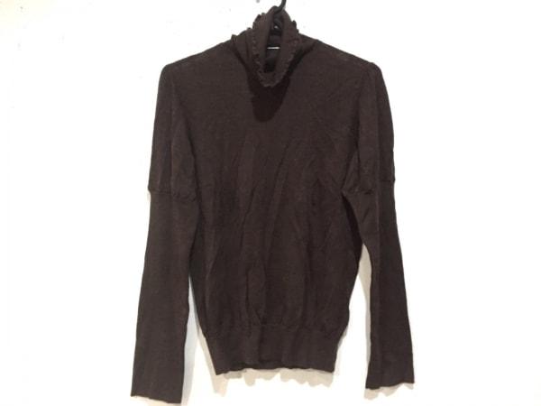 INGEBORG(インゲボルグ) 長袖セーター サイズ11 M レディース美品  ダークブラウン