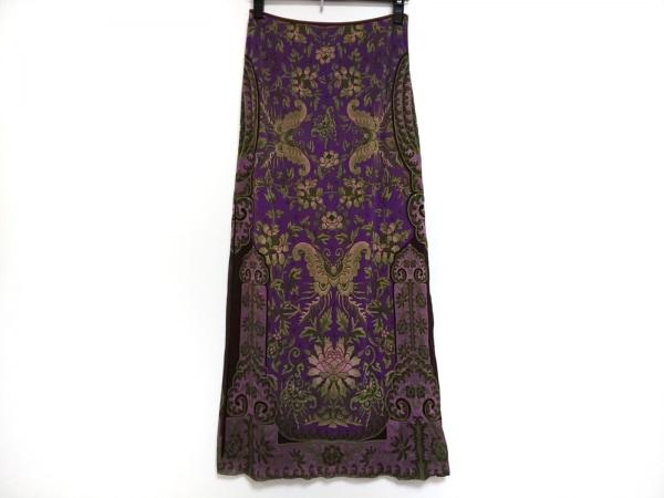 ヴィヴィアンタム ロングスカート サイズ1 S レディース美品  スリット/花柄