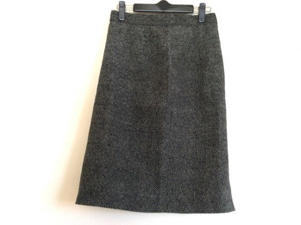 KAMANTA(カマンタ) スカート サイズ42 L レディース美品  黒×グレー×アイボリー
