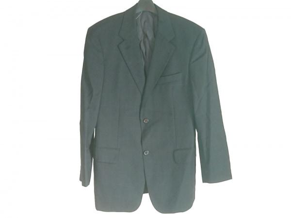 HUGOBOSS(ヒューゴボス) ジャケット メンズ美品  ダークネイビー×ブルー 肩パッド