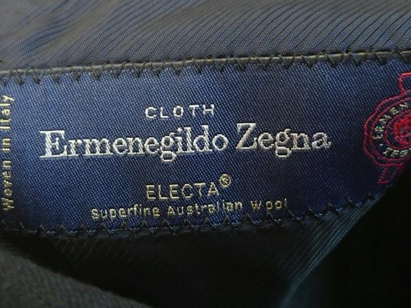 ErmenegildoZegna(ゼニア) メンズスーツ メンズ 黒 ストライプ