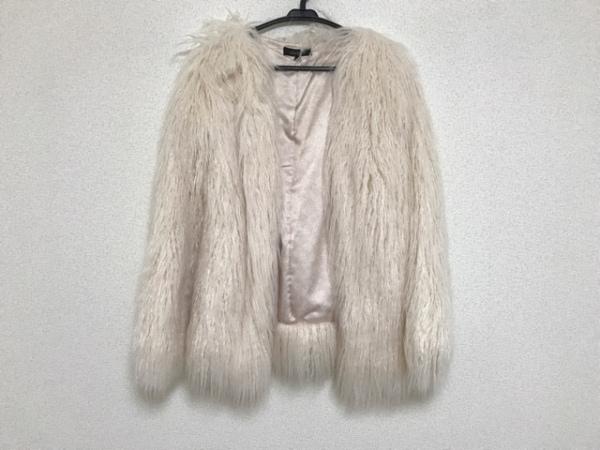 rienda(リエンダ) コート サイズS レディース アイボリー 冬物