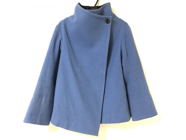 GOUT COMMUN(グーコミューン) コート サイズ38 M レディース美品  ブルー 冬物