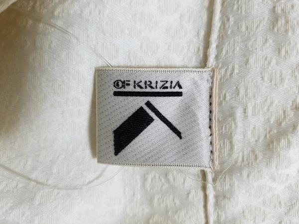 KRIZIA(クリッツィア) Pコート サイズ42 L レディース アイボリー 春・秋物