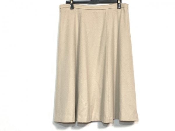 マックスマーラスタジオ スカート サイズ44 L レディース美品  ベージュ