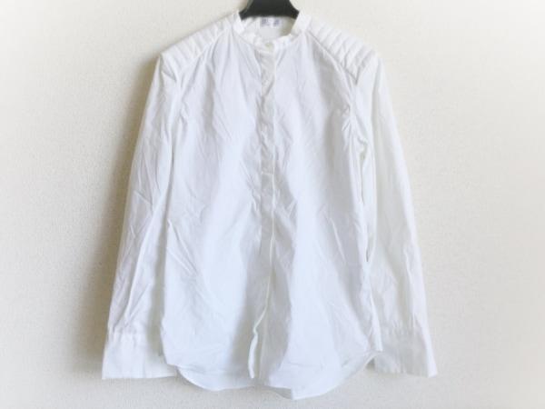 ブルネロクチネリ 長袖シャツブラウス サイズXS レディース美品  白 ノーカラー