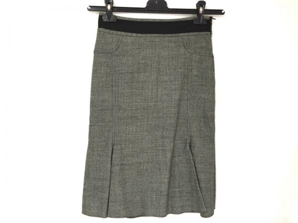 BLUMARINE(ブルマリン) スカート サイズ38 S レディース美品  白×黒